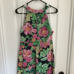 Sleeveless Lilly Pulitzer Floral Dress